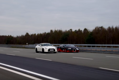 Video: Cocky 1200hp Gt-r Owner Challenges Bugatti Veyron Vitesse Owner To A Race To 300km/h!