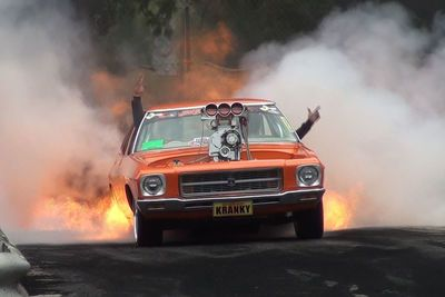 Video: When Your Car Is Called Kranky And It Can Summon The Devil's Flames From It's Tyres!