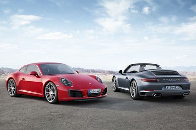 Porsche Just Announced A Brand New 911 Carrera.