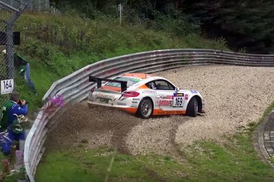 Video: When In Doubt, Flat Out! How To Save A Porsche From A Big Crash!