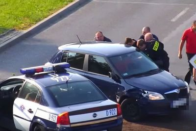 Video: Crazy Car Chase In Poland, Obviously Ends Up With A Fail!