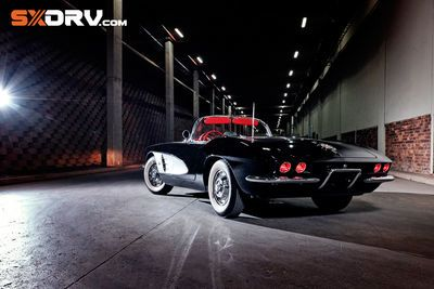 Some Beauties Just Get Sexier With Age And This '61 Corvette Is Pure Car Porn!
