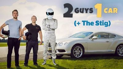 Video: Battling The Stig On The Top Gear Test Track