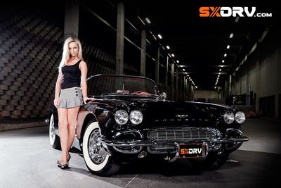 Carissa Kruger - '61 Chevrolet Corvette - Exclusive Interview & Pictures