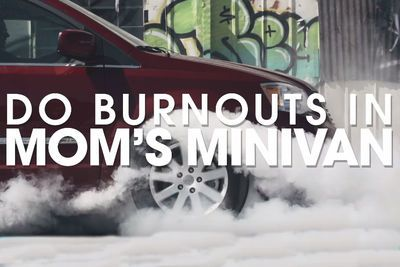 Video: How To Do A Burnout In Your Mom's Minivan, With Ryan Tuerck!