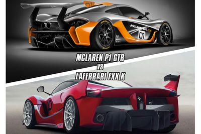 Video: Mclaren P1 Gtr Vs Ferrari Fxx K. Which Sounds Better?