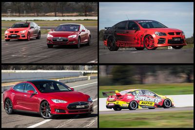 Video: Can The Tesla P85d Beat A V8 Supercar In A Drag Race?