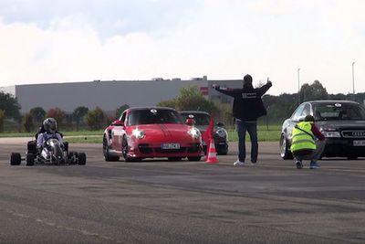 Video: A Honda Cbr 1000 Powered Go-kart That Beats 1000hp+ Cars!