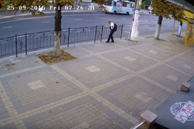 Video: Can Anyone Get Any Luckier Than This? Russian Schoolboy Narrowly Escapes A Possible Death!