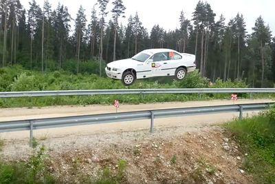 Video: Jumping A Bmw M3 Like A Boss!