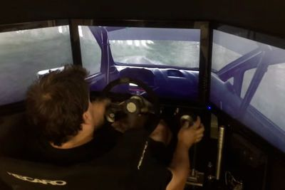 Video: What Happens When A Real Life Rally Driver Takes On A Car Simulator?