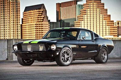 Video: Meet The Zombie 222 Electric 800hp 1968 Mustang!