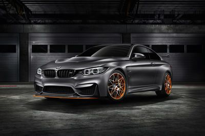 Video:`BMW M4 GTS takes on Anglesey Circuit