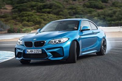 Video: The Bmw M2 Is Coming Your Way. Sideways.