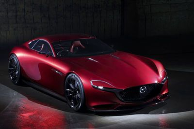 The Mazda Rx-vision Concept Could Be The Return To Rotary Power'we've All Been Craving!