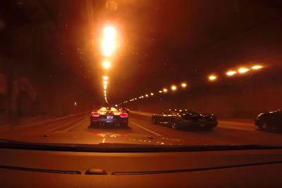 Video: 918 Spyder, Veyron & 3 Koenigseggs Tear Down The Autobahn