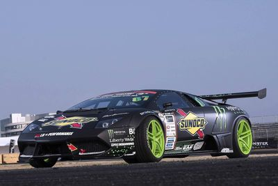 Video: World's First Lamborghini Drift Car
