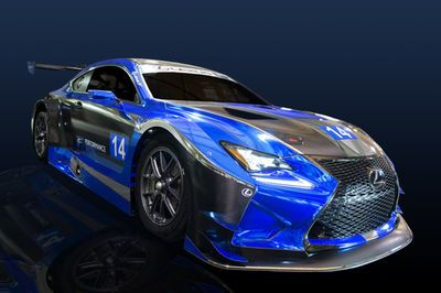 Video: Lexus Rc F Gt3 To Compete In 2016
