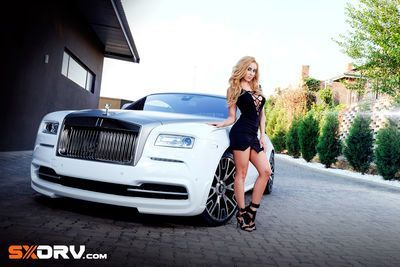Crystal Potgieter - Rolls Royce Wraith - Exclusive Interview & Pictures