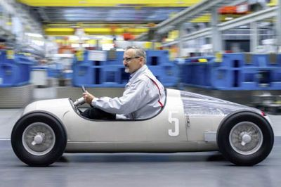 Video: Audi Recreates 1936 Grand Prix Car With A 3d Printer