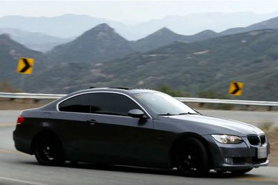 Video: Overzealous Bmw Driver On Mountain Road Wrecks Badly!