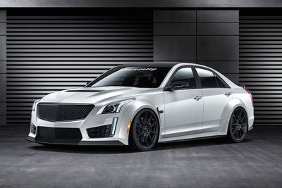 Hennessey Just Unleashed A 1,000hp Cadillac Cts-v Monster!