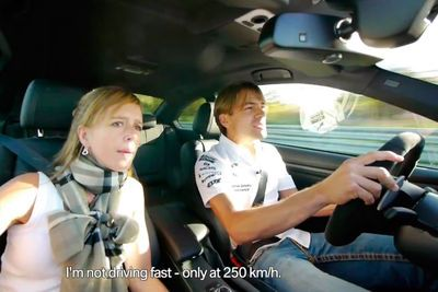 Video: A Hell Of A Ride: Bmw Works Driver's Wife Gets A Taste Of The Nordschleife.
