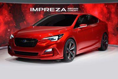 Subaru Unveils Impreza Sedan Concept At La Motor Show