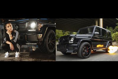 Video: Mega Babe Yovanna Ventura Took Her G63 Amg To Get Tuned, Gets A 700hp, Flame Throwing Beast In Return!