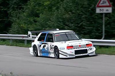 Video: Watch This 500hp Vw Golf Mk2 Rallye Destroy A Hillclimb Course!