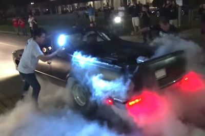 Video: Nitrous Huffing, Flame Throwing, El Camino Named 'kamikaze' Causes Some Terror!