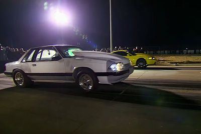 Video: Mustang Racing On Discovery's Street Outlaws Gets Loose And Wipes Out Badly!