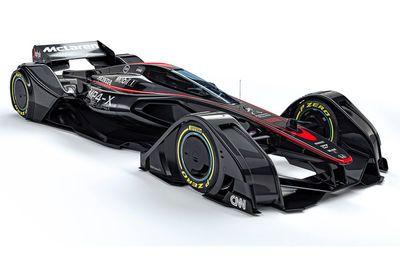Video: Mclaren Unveils Mp4-x Concept Car!