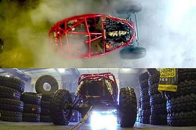 Video: Chain Up Your 700hp Dune Buggy And Do A Sick Burnout! Sounds Like A Plan!