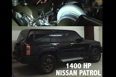 Video: A 1400hp Nissan Patrol Is The Ultimate Sleeper!