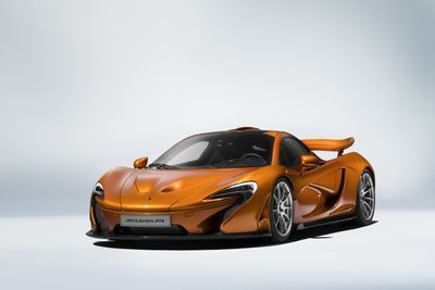 Mclaren P1 Production Comes To An End.