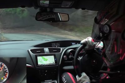 Video: Watch This Awesome Touge Attack In The New 2015 Civic Type R!