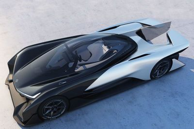 Video: The Faraday Future Ffzero1 Is A 1000hp Ludicrous Electric Vehicle.