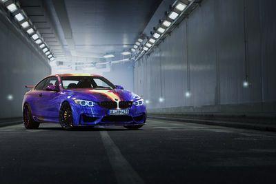 Video: Hamann Bmw M4 Art Car - Brutal Accelerations & Tunnel Revs!