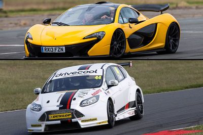 Video: Can A Ford Focus Btcc Car Beat A Mclaren P1 Around The Track?