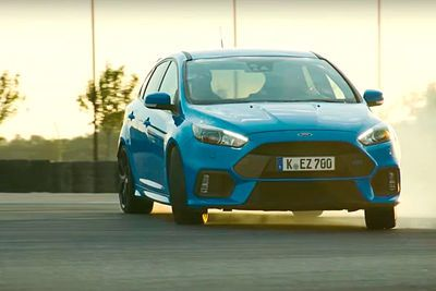 Video: Former Stig Ben Collins Details Ford Focus Rs Drive Modes