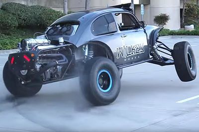 Video: Urban Assault - Tearing Up The Streets In A 800hp Monster Beetle!
