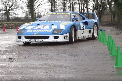 Video: Taxtherich Is Back, Thrashing A Very Rare, Very Expensive Ferrari F40 Gt!