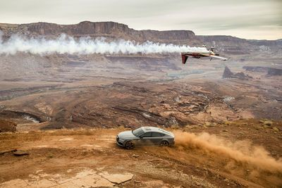 Video: Red Bull Takes It To The Extreme, With Some Precision Driving And Some Mind-blowing Flying. Adrenaline Overload!