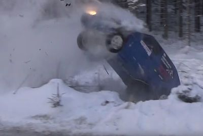 Video: The Icy Corner Of Death. Claims Multiple Rally Cars!