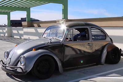Video: The 'rat Bug'. A 1968 Vw Beetle That's As Crazy And Weird As You Can Get!