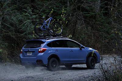Video: What Happens When You Give Professional Mountain Biker And Rally Driver Brandon Semenuk A Subaru And A Trek Bike?