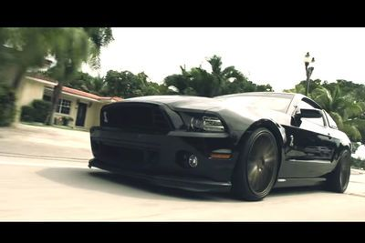 Video: Ford Shelby Gt 500 The 'bagged Snake'