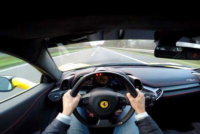 Video: Prior Design Ferrari 458 Italia With Super Loud Straight Pipes Hit The Autobahn!