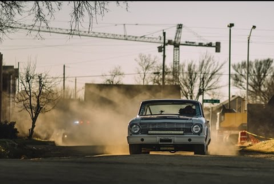 Video: Aaron From Gas Monkey Garage Racing Around Fort Worth Texas In His Badass Falcon!